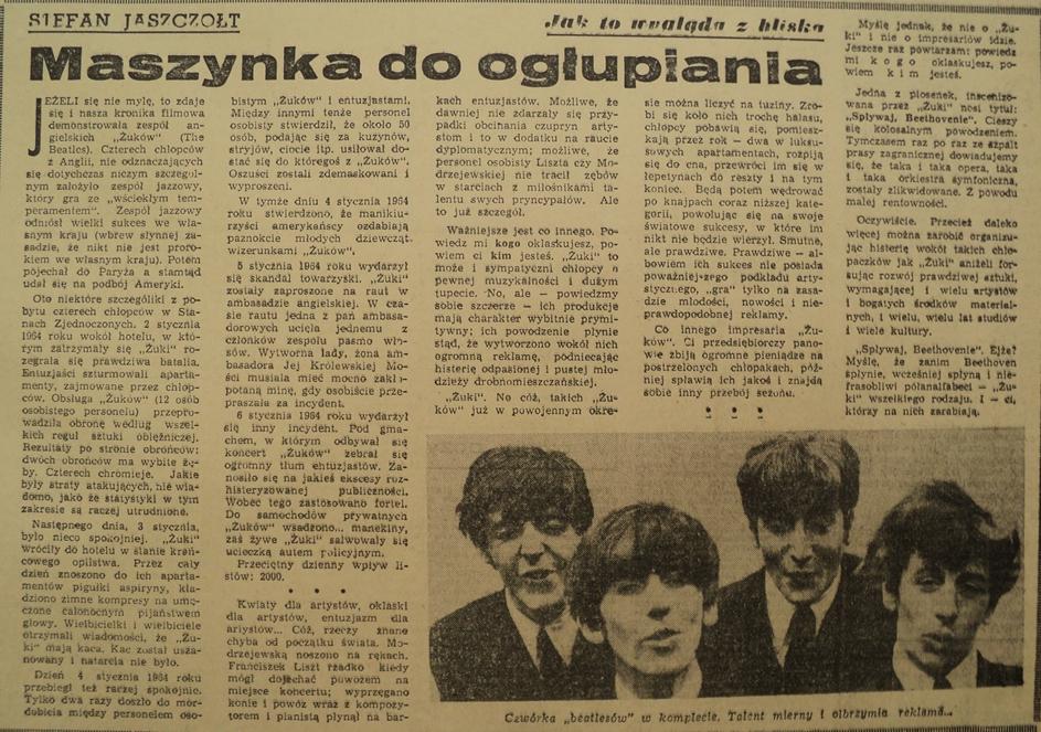Tyg. Katolicki WTK z 29.03.1964 roku