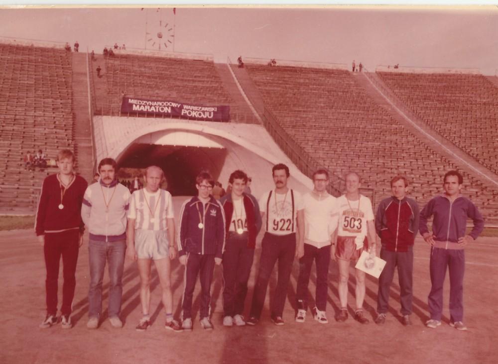 Wspólne wyjazdy toruńczyków na maratony